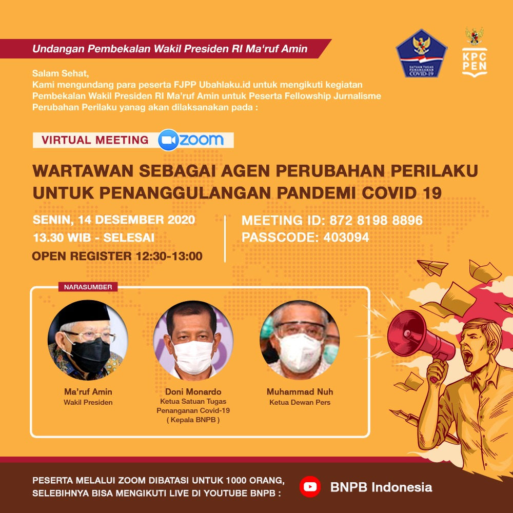 Pembekalan Wakil Presiden Republik Indonesia Ma'ruf Amin