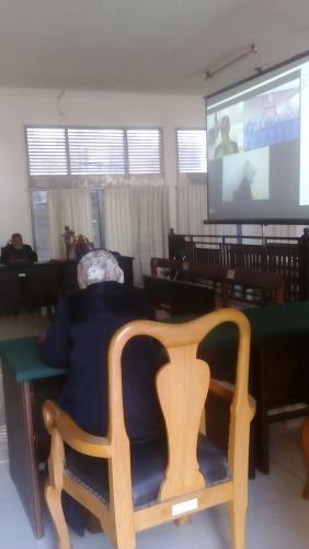 Antisipasi Covid 19 Pn Banda Aceh Gelar Sidang Virtual