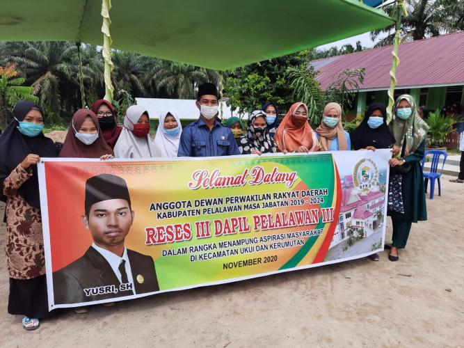 Reses Anggota DPRD Pelalawan Tetap Terapkan Prokes Covid-19