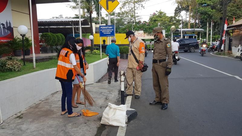 Masih Banyak Orang yang Terjaring Operasi Tertib Masker di Jakarta