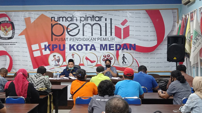 KPU Medan Antisipasi Cluster Covid 19  Pilkada Medan