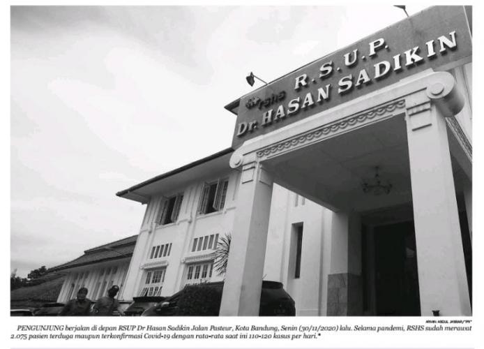 Antisipasi Lonjakan Covid, RSHS Tambah Gedung Baru Isolasi