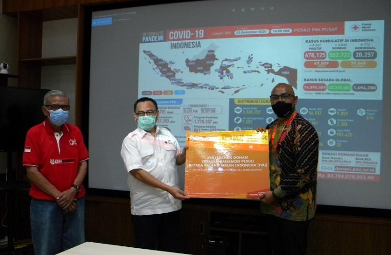 Yayasan Danamon Peduli Salurkan Donasi Kepada Palang Merah Indonesia (PMI), Tegaskan Komitmen untuk Melawan COVID-19 Secara Keberlanjutan