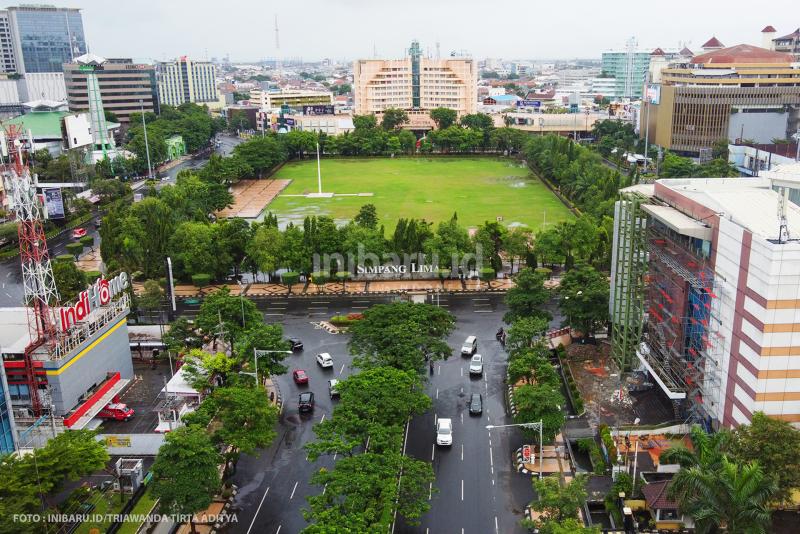 Kota Semarang Lengang dan Tergenang,Jateng di Rumah Saja Sukses?