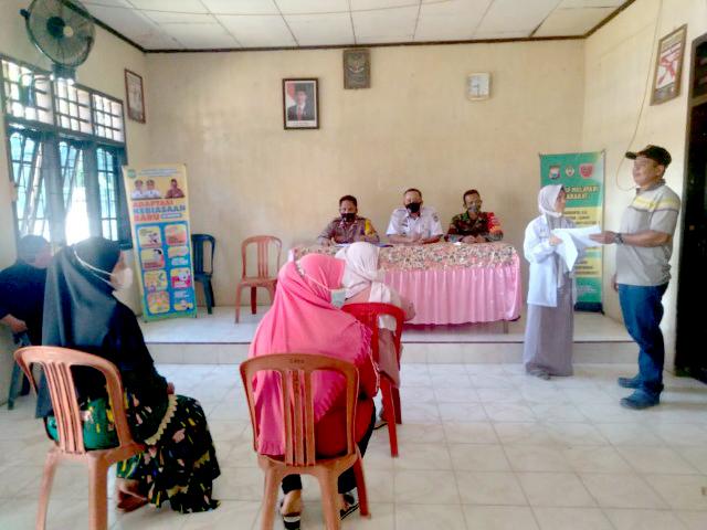 Rakor, Bripka Husmin Ajak Ketua RT/RW Jadi Contoh Dalam Penerepan Prokes Covid-19