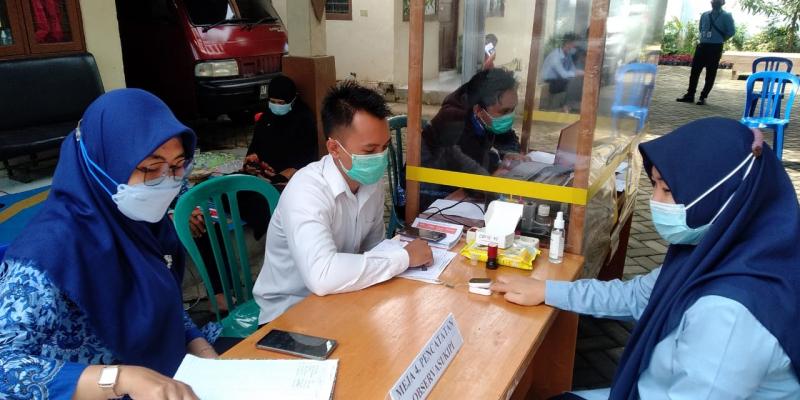UPT Puskesmas Sungai Karias Proaktif Laksanakan Vaksinasi COVID-19