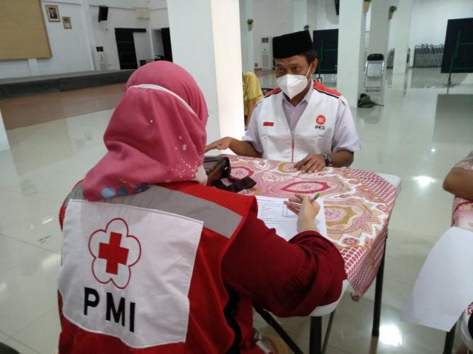 PKS Gelar Donor Darah dan Plasma Konvalesen