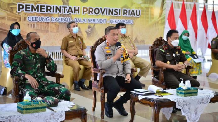 Kapolda Riau Akui Penyekatan Masih Kendor
