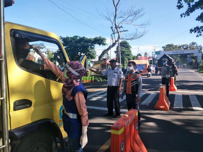 Polisi Siapkan Cek Poin di Pintu Masuk Kota Mataram