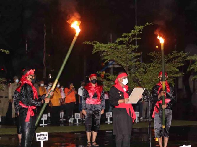 Peringati Hari Pattimura, Wali Kota Ambon Ajak Warga Lawan Covid-19