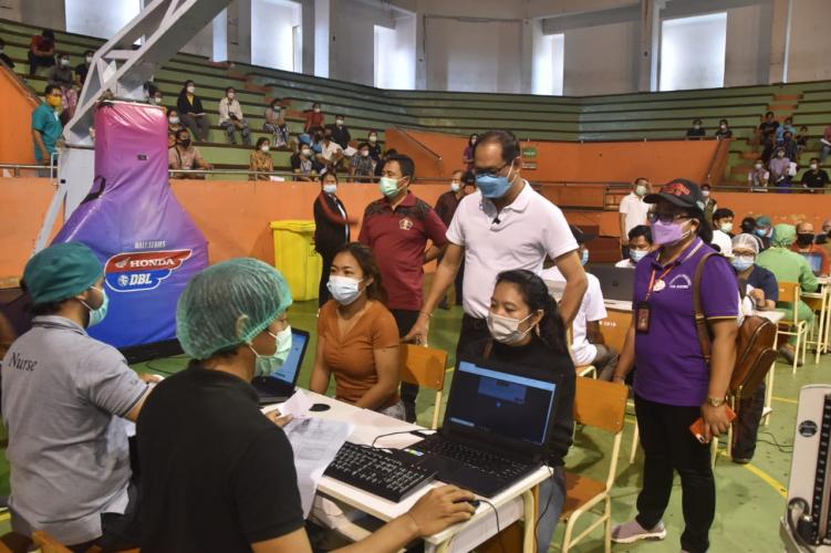 Libur Cuti Bersama, Badung Tetap Layani Vaksinasi Covid-19