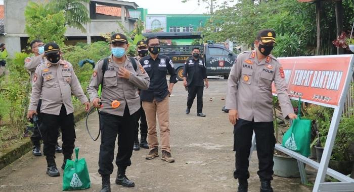 PPKM Mikro Mang Pedeka Serbu kampung zona merah covid 19 Kota Palembang