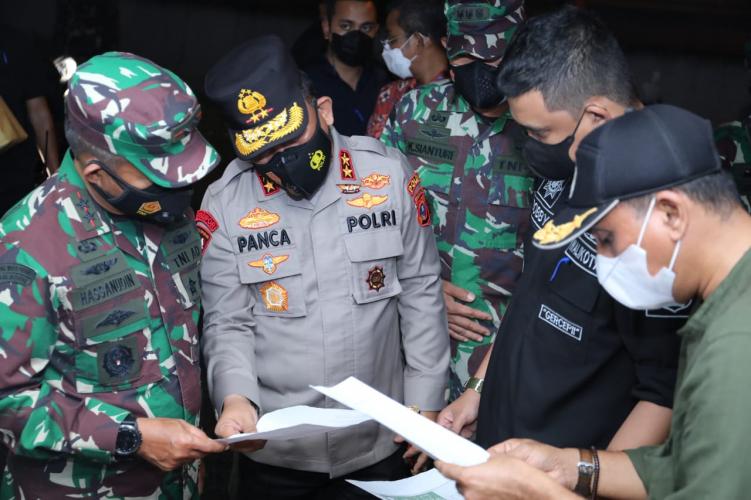 Kapoldasu Pastikan Penerapan Isolasi Mandiri di Dua Lingkungan di Medan
