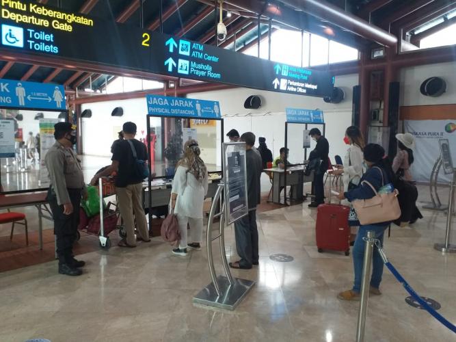 Polresta Bandara Soetta Gelar Patroli Dialogis Penegakan Prokes