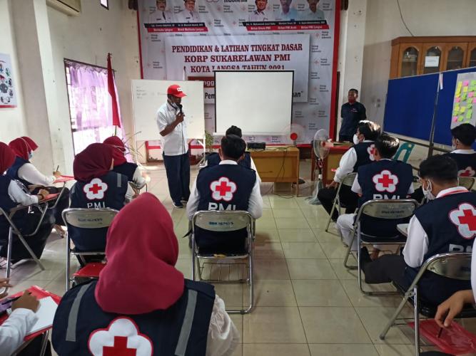 PMI Aceh Berikan Pembekalan Relawan Siaga Covid 19
