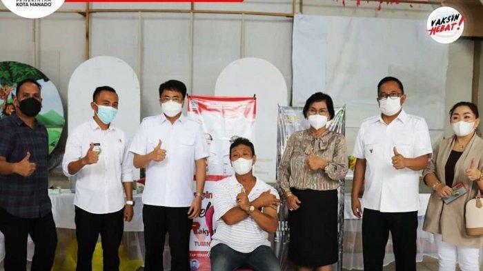 Pemkot Manado Targetkan Manado Kota Pertama Selesaikan Vaksinasi