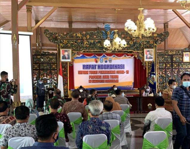 Pemkab Bangkalan Gerak Cepat Tangani Lonjakan Covid-19, Perketat Penerapan 5 M