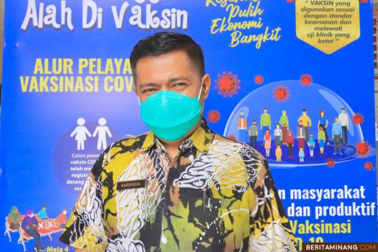 Hari ini (20/6) Pemko Payakumbuh Gelar Gebyar Vaksinisasi Covid