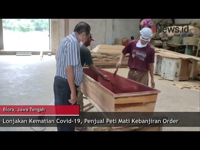Kasus COVID-19 Meningkat, Pengusaha Peti Mati Banjir Order