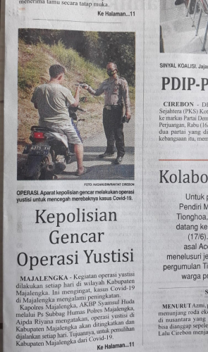 Kepolisian Gencar Operasi Yustisi