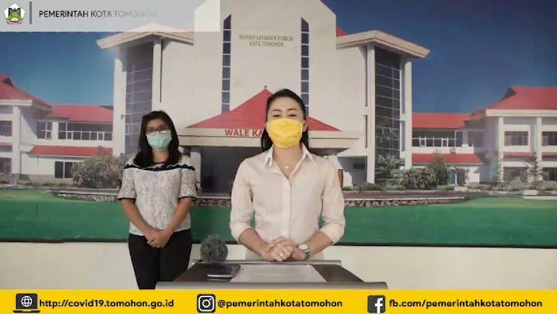 Di Kota Tomohon tersisa satu pasien positif Covid-19 yang di rawat di Rumah Sakit