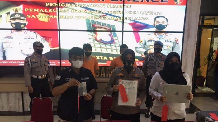 Polisi Tangkap Pelaku Pemalsu Surat GeNose di Bandara Hangnadim