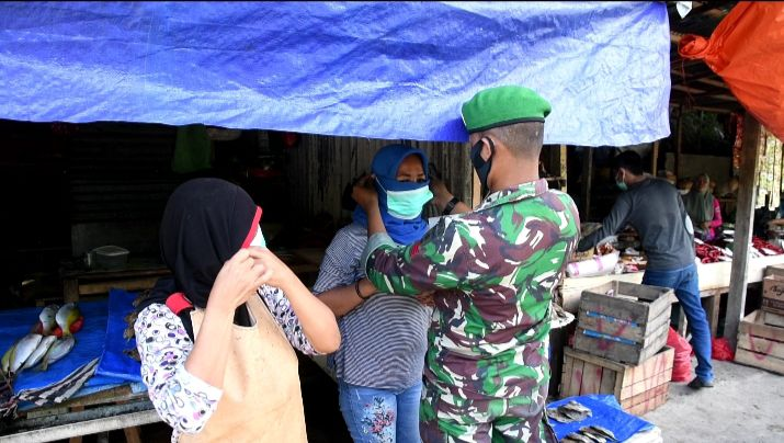 Mayor Inf Ahmad  : Edukasi Masyarakat Patuhi Prokes