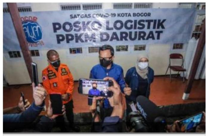 Kota Bogor Siap Implementasikan PPKM Mikro Darurat  Mulai 3 Juli 2021, Ini Pointnya