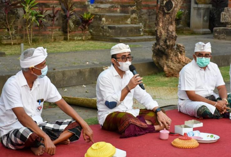 Wali Kota Denpasar Canangkan Vaksinasi dan Isoman Terpusat Berbasis Desa Adat