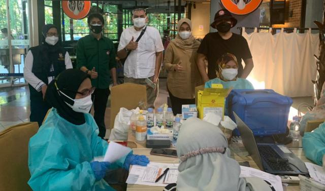 Makassar Zona Merah, IDI Gelar 10 Ribu Vaksinasi Serentak di Empat Titik, Didukung Kalla Group