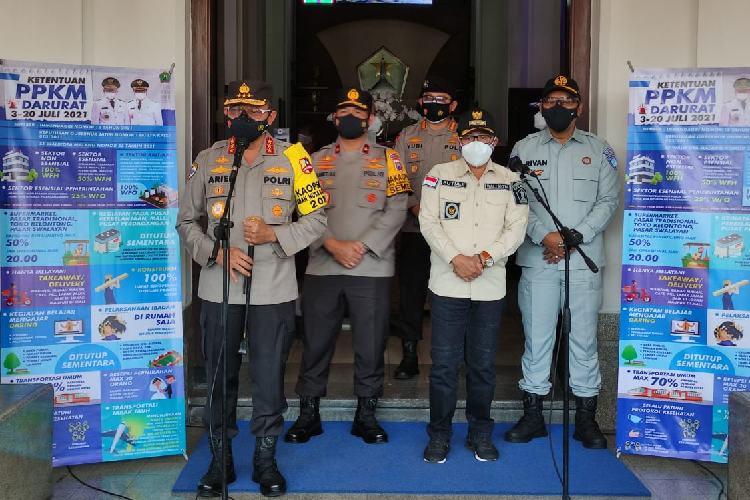Kabaharkam Polri Apresiasi Penanganan PPKM di Kota Malang, Begini Alasannya