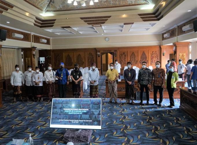 Atasi Ketersediaan Ruang Isolasi dan Suplai Oksigen, Jaya Negara Undang Pengelola RS Swasta Se-Denpasar