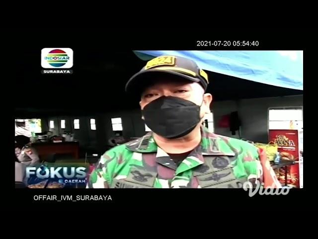 Indosiar_Potret Kesibukan Relawan di Dapur Umum Warga Isoman