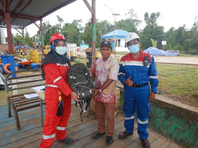Kilang Kasim dan BPBD Sorong Gelar Pelatihan Kebencanaan Ditengah Pandemi Covid-19
