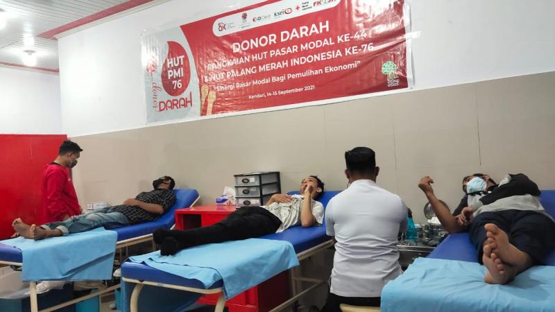 BEI  Kumpulkan  350  Kantong  Darah, Bantu  Kebutuhan  Stok