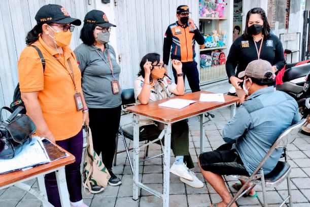 Pemantauan Prokes, 17 Orang Dijaring Tim Yustisi Denpasar