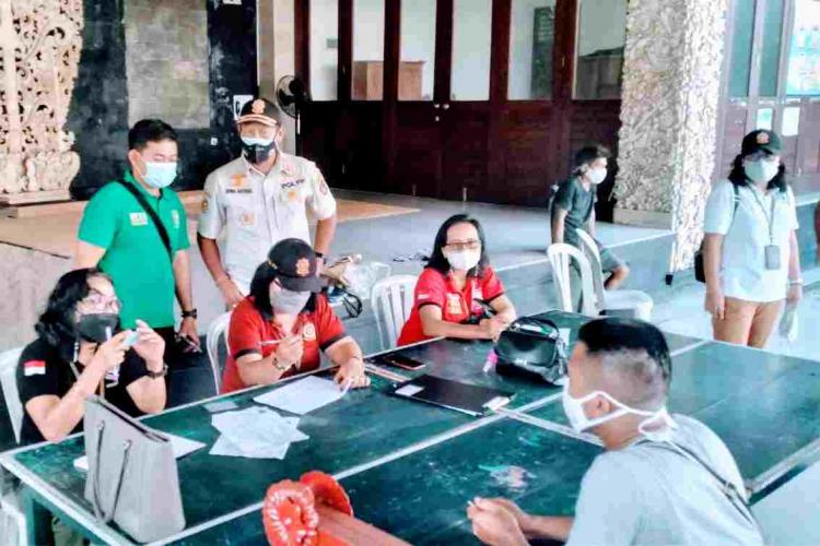 Tim Yustisi Denpasar Tertibkan 23 Orang Pelanggar Prokes