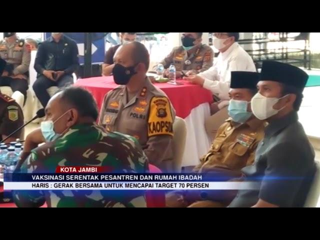 JAMBI TV - GUBERNUR AL HARIS TINJAU PELAKSANAAN DI MASJID AGUNG AL FALAH