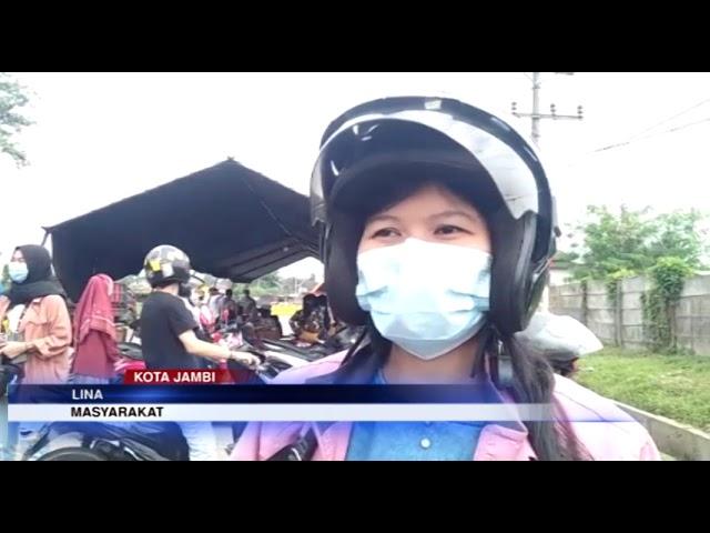 JAMBI TV - MASYARAKAT KECEWA TIM VAKSINATOR TAK ADA DI POS SIMPANG RIMBO