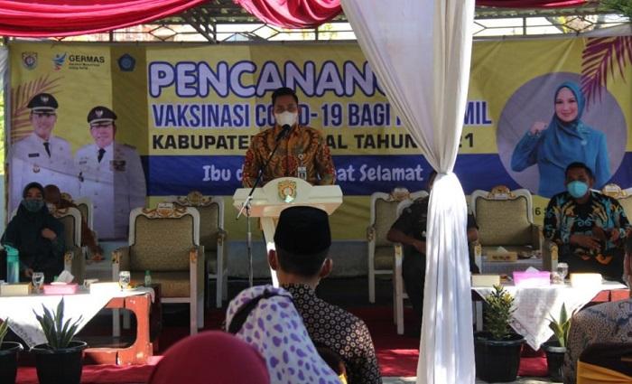 Pencanangan Vaksinasi Covid-19 bagi Ibu Hamil di Kendal: Jangan Takut Divaksin!