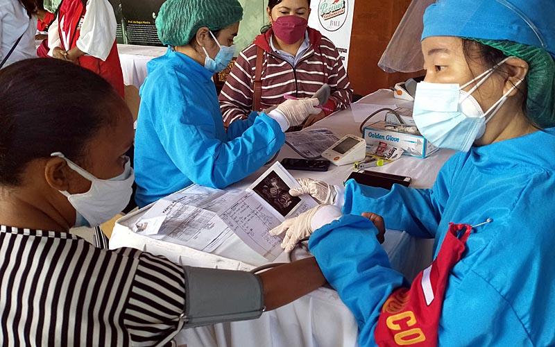 Vaksinasi Ibu Hamil di Denpasar