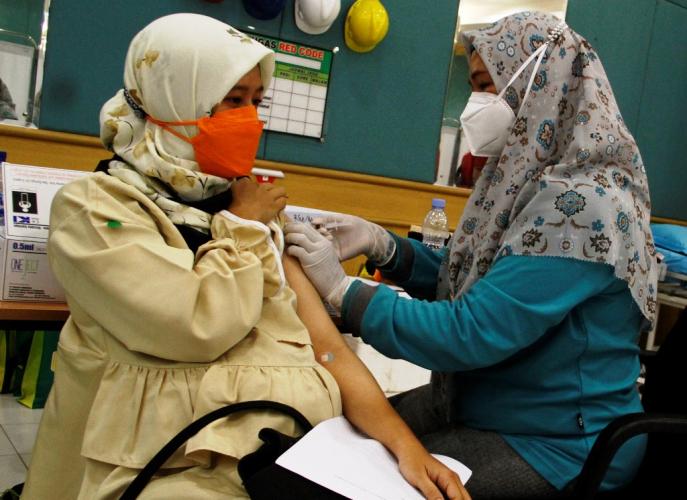 Riau Hampir 100 Persen, Ibu Hamil dan Menyusui Aman Divaksin