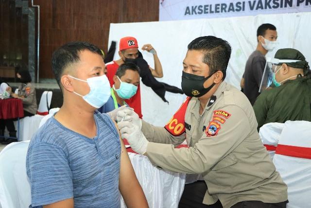 Vaksin di Lingkungan Kampus, Polda Gandeng Poliban