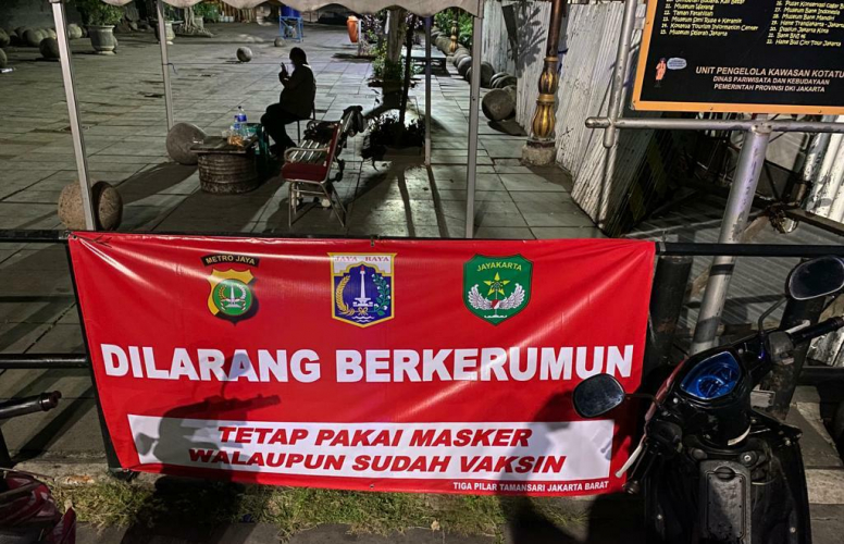 Cegah Kerumunan, Kawasan Kota Tua Jakarta Barat Terapkan Crowd Free Night