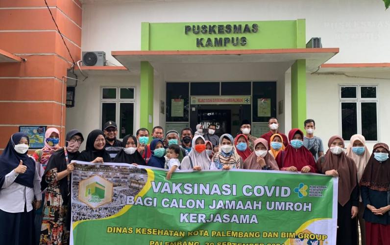Calon Jemaah Umrah Mulai Mendatangi Puskemas untuk Vaksin Covid-19