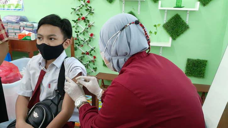 Didorong, Vaksinasi Covid-19 Anak Usia SD di Solo