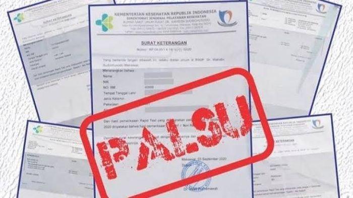 2 Pemalsu Surat Rapid Antigen di Ambon Dituntut 1,5 tahun