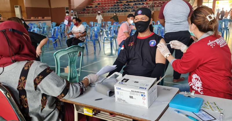 Dinkes Siapkan 1.500 Dosis Pelaksanaan Vaksinasi Di GOR Nunukan.
