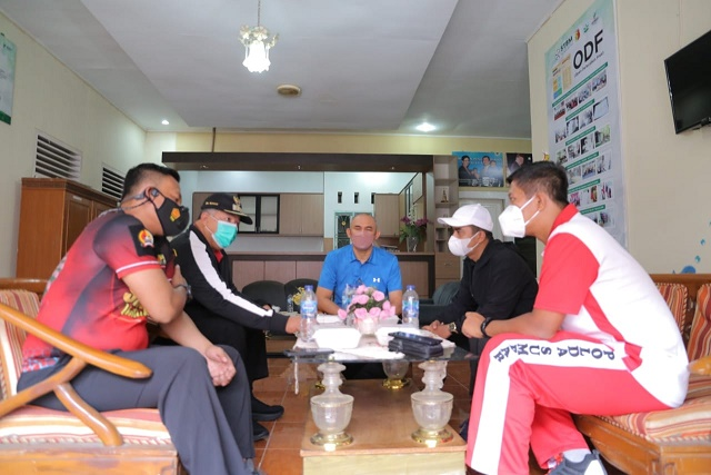 Wako dan Wawako Solok Tinjau Gebyar Vaksinasi di Klinik Tumbang