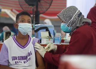 5.000 Dosis Vaksin Untuk Anak Di Atas 12 Tahun